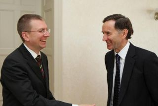 Edgars Rinkevics and Lord Stephen Green. Riga, 12.06.2012. Photo: flickr.com