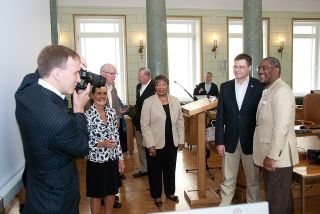 Valdis Dombrovskis at the meeting with US congressmen. Rigam 29.06.2012. Photo: flcikr.com