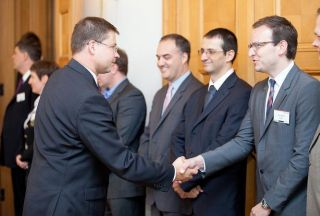 Valdis Dommbrovskis meets with US businessmen. Riga, 3.07.2012. Photo: flickr.com