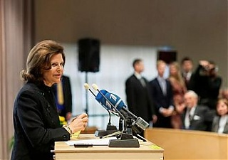 Queen Silvia of Sweden participated in