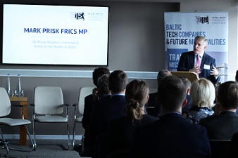 Mark Prisk FRICS MP, UK Prime Minister's Investment Envoy to the Nordic & Baltic