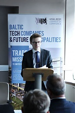 Marcis Liors Skadmanis, Executive Director & Chairman, Latvian-British Chamber of Commerce