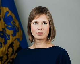 Kersti Kaljulaid. Photo: twitter.com.