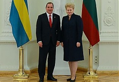 Grybauskaite: regional security – common interest of Baltic and Nordic countries