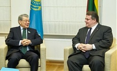Discussions in Vilnius focus on Lithuanian – Kazakh cooperation at UN