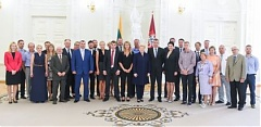 Lithuanian president appreciated the athletes, who won medals in Baku