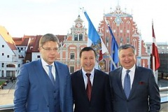 The Mayor of Astana visited the Freeport of Riga