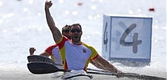 Lithuanian sprint canoe duo wins 4th medal in Rio