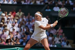 Ostapenko knocked out of Wimbledon