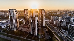 Supply of apartments in Riga down 2% in July