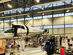 Embraer authorized service center launched at FBO RIGA