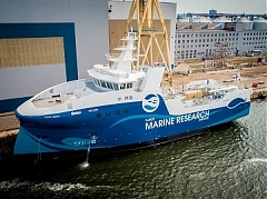 BLRT Grupp launches research vessel for Faroe Islands