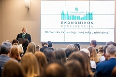 Welcome remarks by Vytautas Vasiliauskas at the Economics conference Labour Market in the 21st Century:The Way Forward