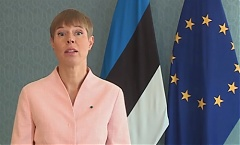 Estonian president at UN: pandemic offers opportunity for technological leap
