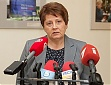 Straujuma's political goal is to increase welfare of Latvian families