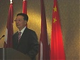 Remarks at the reception of the 65th National Day of China by Yang Guoqiang in Riga