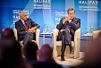 Ilves at Halifax Forum: propaganda from the Kremlin creates a parallel reality