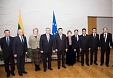 Lithuanian gov chancellor meets with Turkmenistan's FinMin