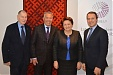 "PM and ""Eurochambres"" heads discuss commercial cooperation within the framework of Latvia's Presidency in EU"