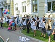 Rally in support of refugees held in Riga