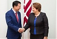 Straujuma sees great potential in cooperation between Latvia and Kazakhstan