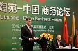 PM: Lithuania keen on expanding country's exports to China