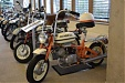 At Rietumu – an exhibition of antique bicycles and motorcycles