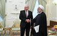Iranian President shows interest in developing trade and educational cooperation with Latvia