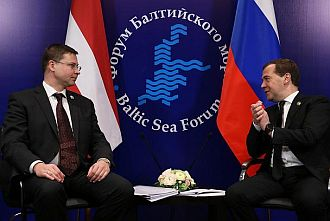 PMs of Latvia and Russia agree to activate the dialogue