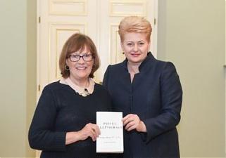 Karen Dawisha Grybauskaite meets with political scientist Karen Dawisha The