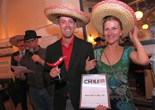 Geographically challenged team wins Best Chili in Riga 2015 :: The
