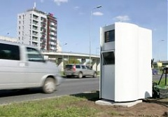 Latvian Police to break contract with speed camera provider Vitronic