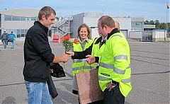 Palanga airport welcomes 100,00th passenger in 2014