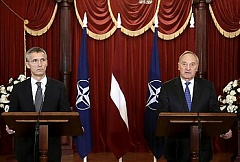 Stoltenberg: Latvia will play important role in region's security in 2015