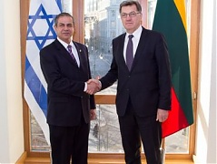 Lithuanian PM meets with in-coming Israeli ambassador