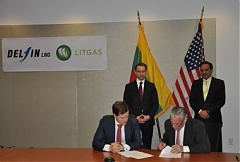 LITGAS establishes ties with US Delfin LNG
