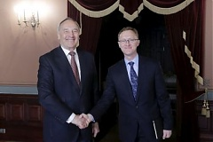 President meets with Latvian ambassador to U.S. to discuss energy matters and agricultural exports