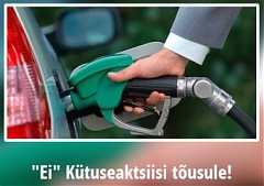 Fuel excise tax increase opponents plan protest gathering in Estonia