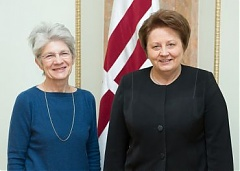 European Trade Union Confederation General Secretary welcomes Straujuma with successful Latvian Presidency in EU