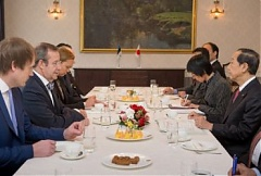 Estonian President met with Information Technology Minister of Japan
