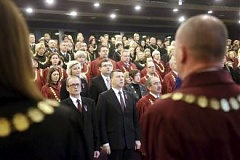 Latvian president stresses role of judiciary at annual conference of judges
