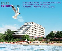 The largest telecommunications conference in the Baltic States Telco Trends will take place in Jurmala, in August
