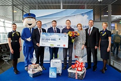 Riga Airport Welcomes Its 60 Millionth Passenger