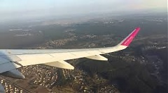 Planes flew mainly from Vilnius to Riga in Lithuania in 1H