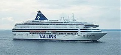 Number of passengers carried by Tallink ferries on Riga-Stockholm route down 0.1% in July