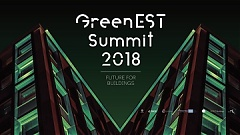 GreenEST Summit 2018: Future for Buildings will start on October 30