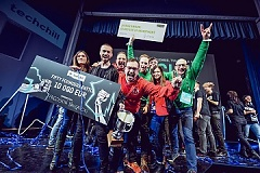 Estonia's Precision Navigation Systems wins award as most promising start-up at TechChill conference