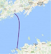 Balticconnector undersea gas pipeline reaches land in Estonia