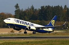 Ryanair to launch flights from Vilnius to London's Southend in November