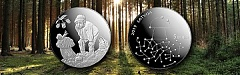 "Latvijas Banka is issuing a collector coin ""Gifts of the Forest"""